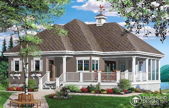 Prefab panelized homes cottages cabins chalets town for Prefab cottage plans